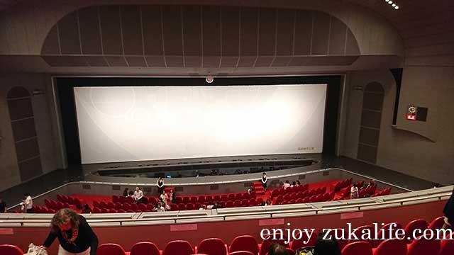宝塚大劇場2階S席