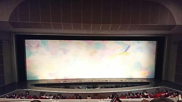 大劇場開演前