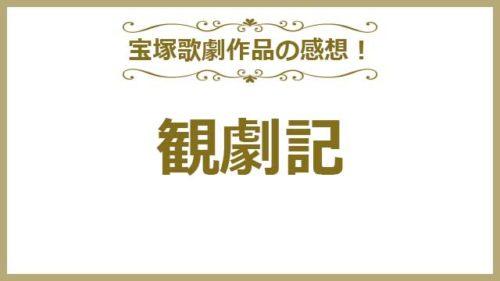 宝塚の舞台の感想・観劇記