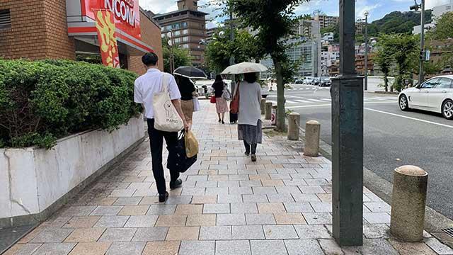 宝塚駅から武庫川河川敷への行き方2