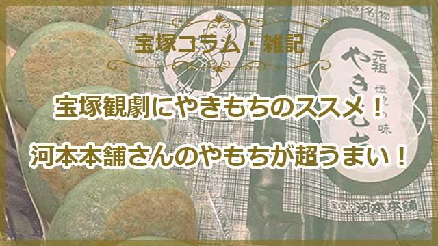 宝塚観劇にやきもちのススメ!